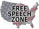US Free Speech Zone