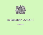 Defamation Act 2013