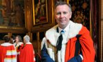 Guy Black takes his seat in the House of Lords
