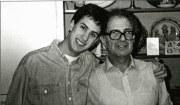 Edward and Ralph at Edis Street 1989